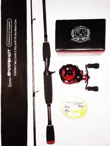 Quantum snapshot rod combo seahawk bass ltd