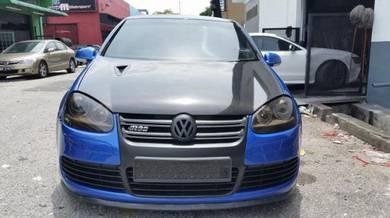 Volkswagen Golf Mk5 Carbon Fiber Front Bonnet