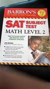 Barron's SAT Math Level 2