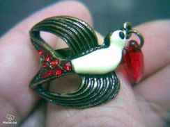 ABRB-S002 Ladies Retro Vintage Swallow Bronze Ring
