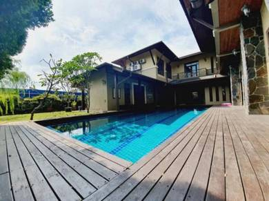 PRIVATE POOL 2.5 Storey Bungalow - Seksyen 9, Shah Alam LARGE LAND