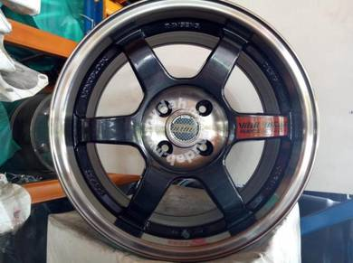 New 16 VOLK RACING TE37 RIM MYVI ALMERA VIOS CITY