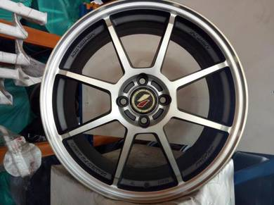 New 17 ori Lenso LIGHT S4 Rim myvi Vios City Jazz