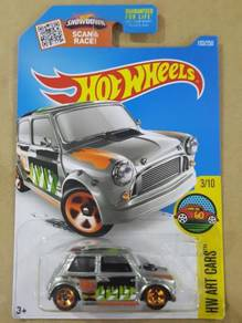 Hotwheels Morris Mini Zamac US Exclusive