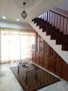 [ BUMI LOT ] Rumah teres double storey Taman Sri Andalas