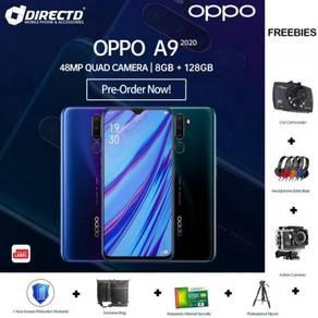 LATEST OPPO A9 (2020) (8GB/128GB) + 7 Hadiah