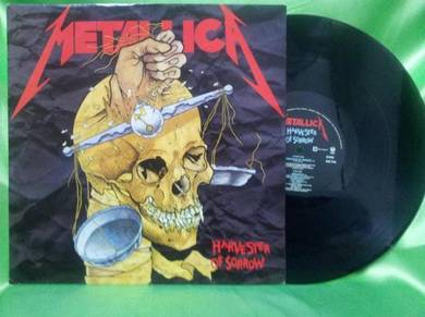 Metallica HARVESTER OF SORROW 1988 UK LP