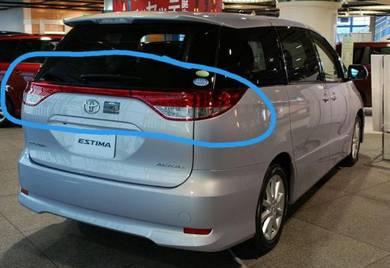 Toyota estima 08 acr50 lampu belakang rear lamp
