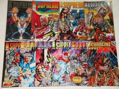 SUPREME. 1993 series. Image comics. 1-set