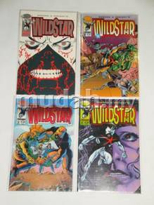 WILDSTAR. Al Gordon-Jerry Ordway. complete set