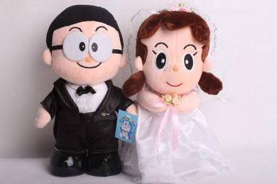 Nobita & Shizuka Wedding Dolls