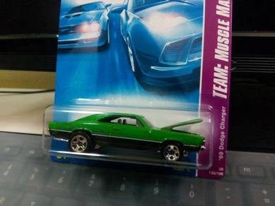 2008 Hotwheels '69 Dodge Charger