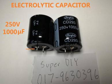 Capacitor 250V 1000 μF Electrolytic capacitor