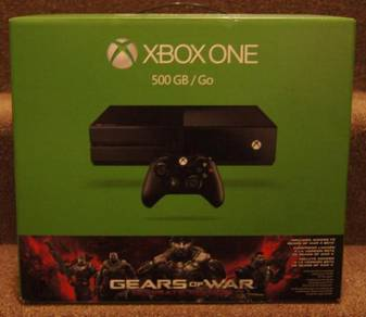 Microsoft Xbox One - 500 GB Black Console