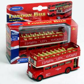 Classic open top Double Decker London bus