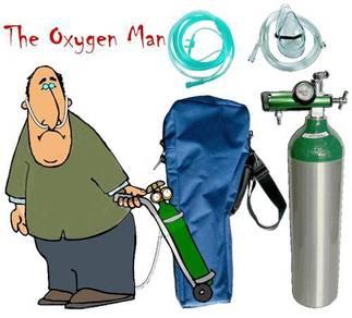 Oxygen cylinder sets
