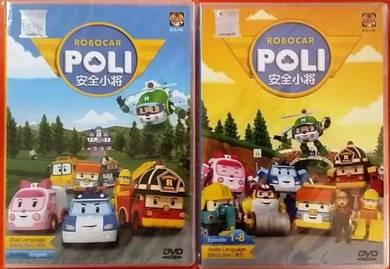 DVD ANIMATION Robocar Poli 34 Episodes