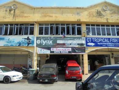 Double-storey shophouse - kompleks perniagaan mergong jaya