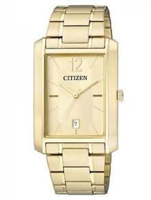 Citizen bd0032-55p gold tone gents watch