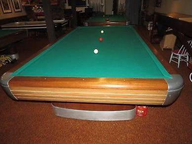 10 foot Brunswick anniversary billiards table