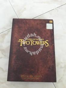 The Lord of The Rings - Two Towers Original VCD