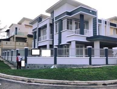 Corner semi d house saujana impian, kajang for sale