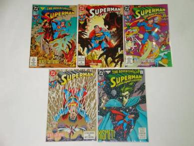SUPERMAN. Blaze-Satanus War. complete set