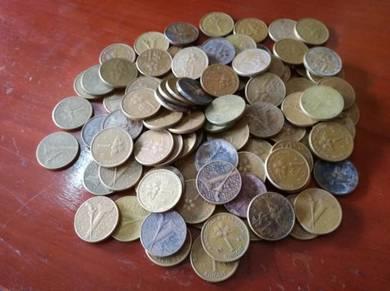 RM 1 Coin 100pcs