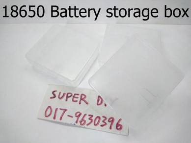 18650 kotak simpan Battery storage case box 4slot