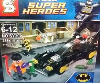 Bricks - SY 302 Batman Batmobile blocks