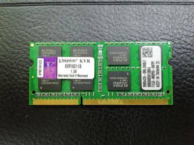 Kingston Notebook Ram 8GB