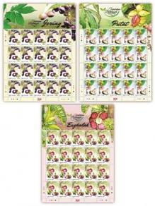 Mint Stamp Sheet Medicinal Plant 4 Malaysia 2018