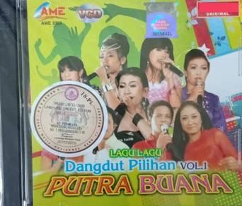 Lagu-Lagu Dangdut Pilihan Vol.1 Putra Buana VCD