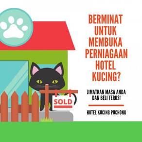 Hotel Kucing Puchong Untuk Dijual SEGERA!