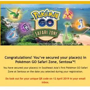 Pokemon GO Safari Zone Sentosa