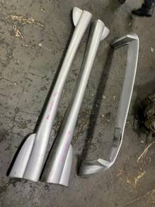 Honda Crx EG2 Delsol Modulo Side Skirt Rear lip