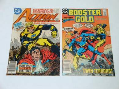 SUPERMAN. Superman vs. Booster Gold. complete set