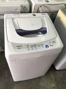 Top Auto 7kg Machine Toshiba Washing Mesin Basuh