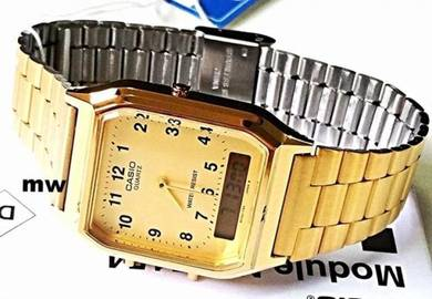 Watch - Casio Men Dual Time AQ230GA - ORIGINAL