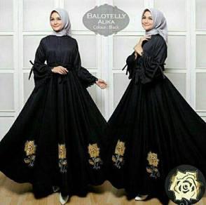 Muslimah long sleeve Alika Maxi Dress bridesmaid