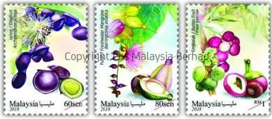 Mint Stamp Medicinal Plant Series 4 Malaysia 2018
