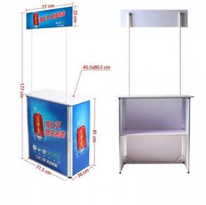 Aluminium portable promotion table