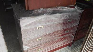 Marble Top Solid Wood Tv Cabinet wt Drawer TM329