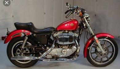 Iron Head Sportster Harley 1980 bsa norton triumph