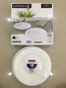 Luminarc Essence Dinner Plate 4pcs (BRAND NEW)