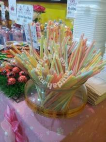 Yogurt stick candy