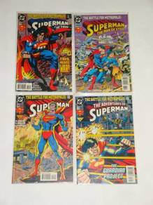 SUPERMAN. The Battle For Metropolis. complete set