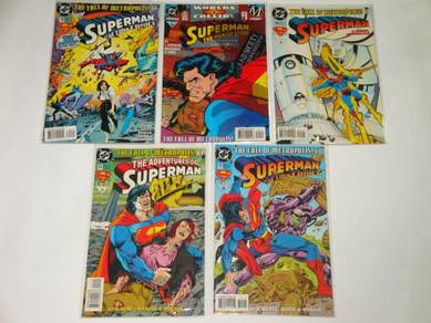 SUPERMAN. The Fall Of Metropolis. complete set