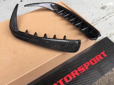Mercedes W176 A250 A45 Carbon Rear Bumper Fins