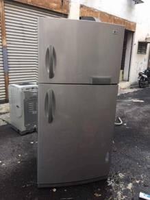 LG 2 doors fridge Peti Sejuk Ais Refrigerator